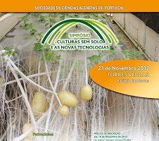 Simpósio – Culturas sem solo e as novas tecnologias – 21 de Novembro
