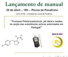 Lançamento de Manual:  Produtos fitofarmacêuticos – pH ideal e modos de acção das substâncias activas autorizadas em Portugal