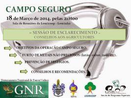 Aconselhamento aos agricultores – GNR