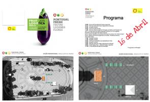Acção promocional de Frutas e Legumes – 16 de Abril – Lisboa