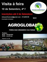 Visita à feira Agroglobal 2014 – 10 de Setembro