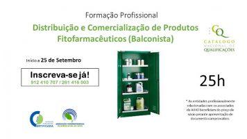 Formação de Distribuição e Comercialização de Produtos Fitofarmacêuticos (Balconistas) – DCPF
