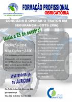 FORMAÇÃO CONDUZIR E OPERAR O TRATOR EM SEGURANÇA